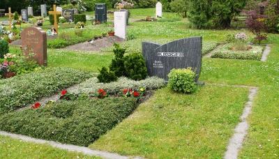Reihengräber mit Pflege und Partnergräber