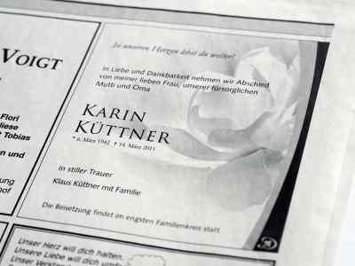 traueranzeige_p1070390 Bestattungen Dunker | Bestattung & Trauerfeier